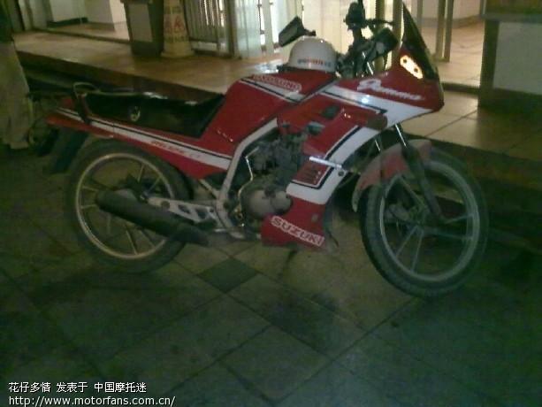 认识这辆老款suzuki 的都进来 - 济南铃木 - 摩托车
