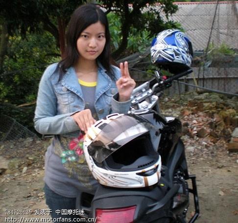 喜欢飙车的台湾美女