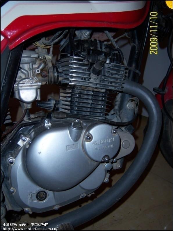 铃木gs125 f406发动机的摩托车可以换gn250的发动机吗