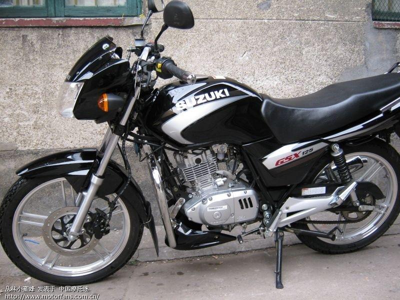关于gsx125 3b - 济南铃木 - 摩托车论坛 - 中国第一