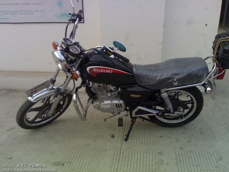 新买的铃木小太子GM125行车记录 - 摩托车论