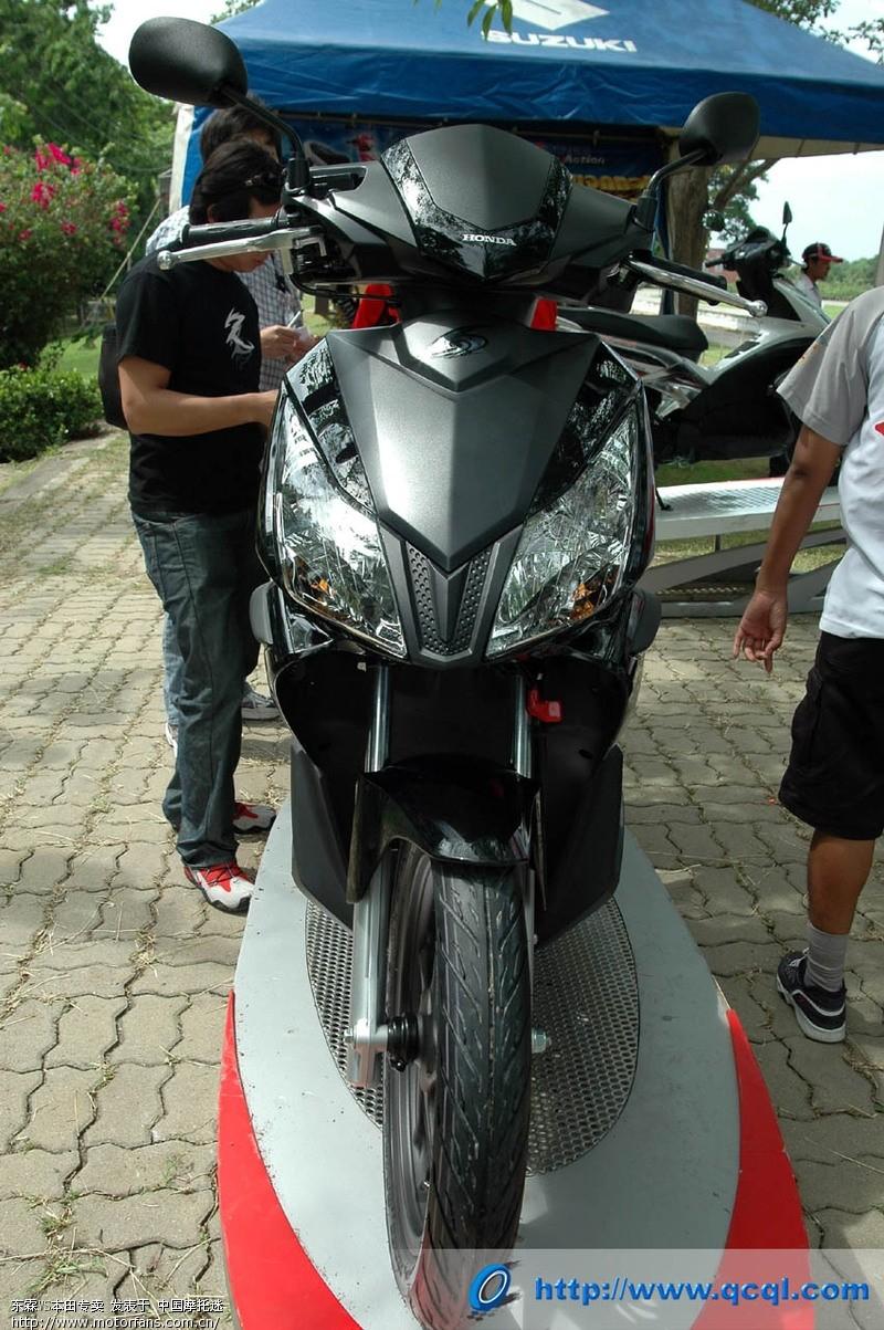 摩托车论坛 新大洲本田-骑式车讨论专区 03 本田弯梁电喷110也快要