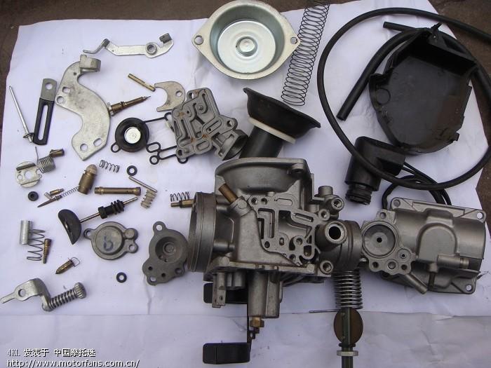 雅马哈踏板摩托车讨论区 化油器高手务必进来看下图片
