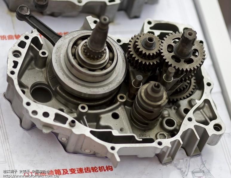 档车的结构决定了变速齿轮和发动机共用机油的,  而踏板车由于采用