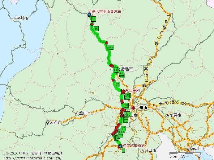 广东阳山各乡镇地图