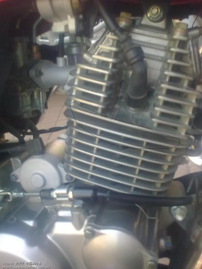 gt125发动机漏油